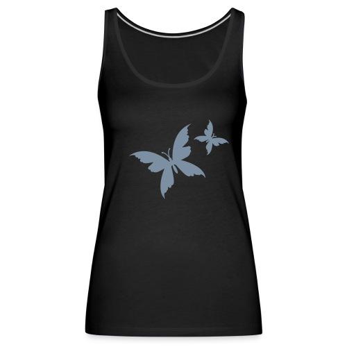 D's Butterfly Black - Vrouwen Premium tank top