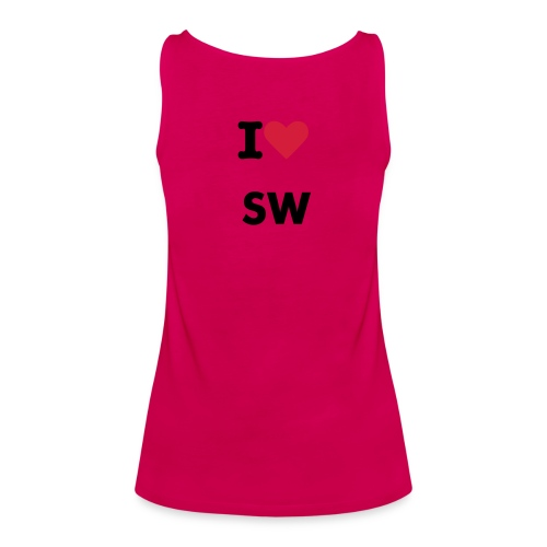 I Love SW - Frauen Premium Tank Top