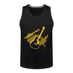 COUNTRY - Männer Premium Tank Top