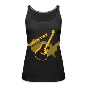 COUNTRY - Frauen Premium Tank Top
