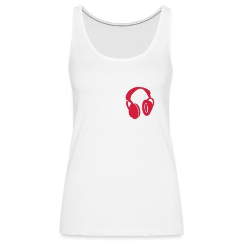 déb. headphones - Débardeur Premium Femme
