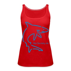 Frauen Schulterfreies Tank Top - Haisociety JR - Frauen Premium Tank Top