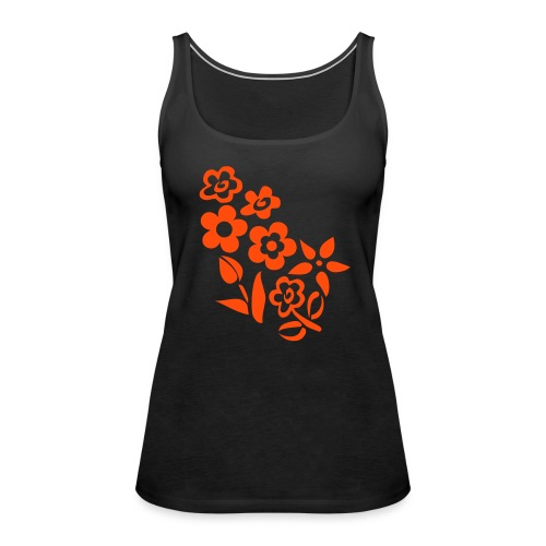 Flowers - word-shirt - Frauen Premium Tank Top
