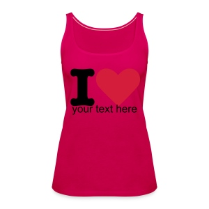 Personalise this item! - Women's Premium Tank Top