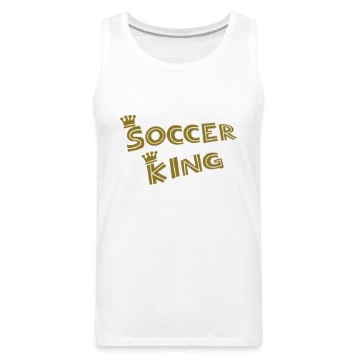 Gaiofana soccer king - Canotta premium da uomo