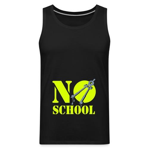 No School Boys - Mannen Premium tank top