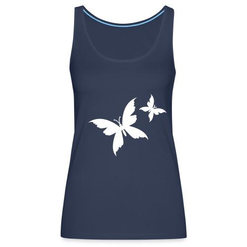 Butterfly3 - Débardeur Premium Femme