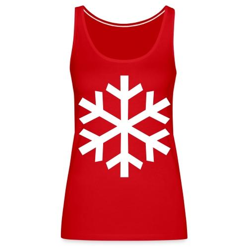 Schneeflocke - Frauen Premium Tank Top