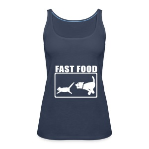 Fast Food - Frauen Premium Tank Top