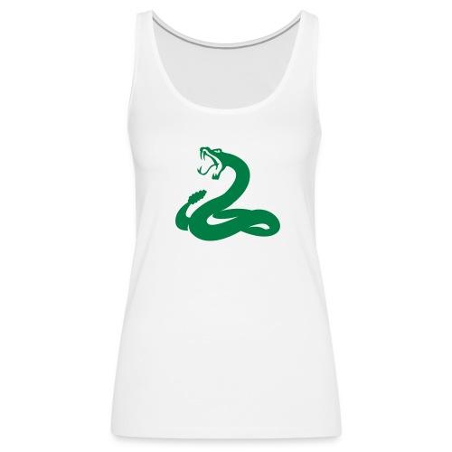 serpent vert - Débardeur Premium Femme