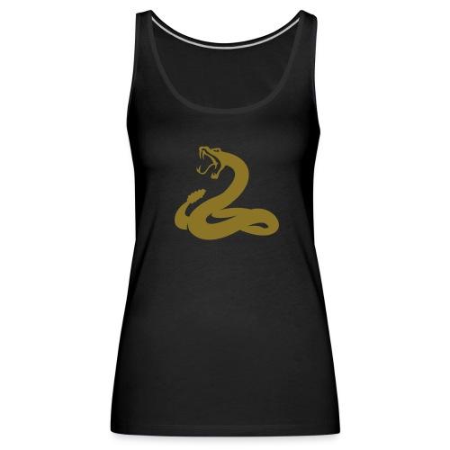 serpent or métallique - Débardeur Premium Femme