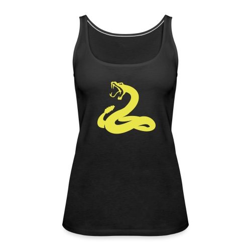 serpent jaune - Débardeur Premium Femme