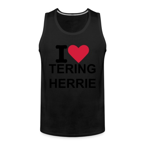 I LOVE TERING HERRIE the limbo edition - Mannen Premium tank top