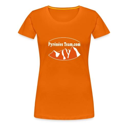 Pyrénées Team Officiel - T-shirt Premium Femme