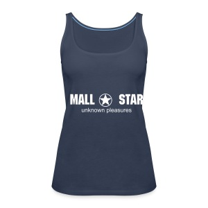 New Womens Spaghetti (blue) - Women's Premium Tank Top