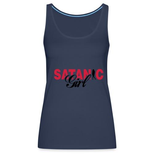 Satanic Girl - Camiseta de tirantes premium mujer