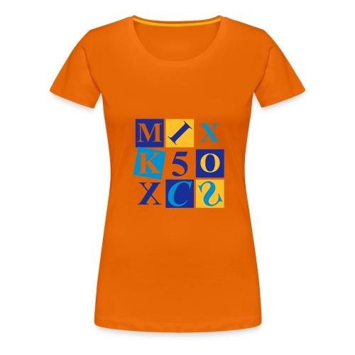 Girlie-Shirt mit Retro-Motiv - Frauen Premium T-Shirt