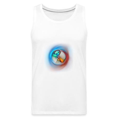 fractal dsc06 shirt - Mannen Premium tank top