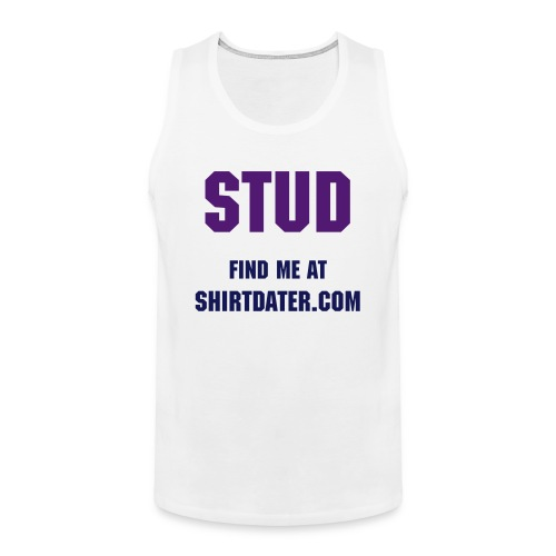 Shirtdater.com exclusive dating wear - Men's Premium Tank Top