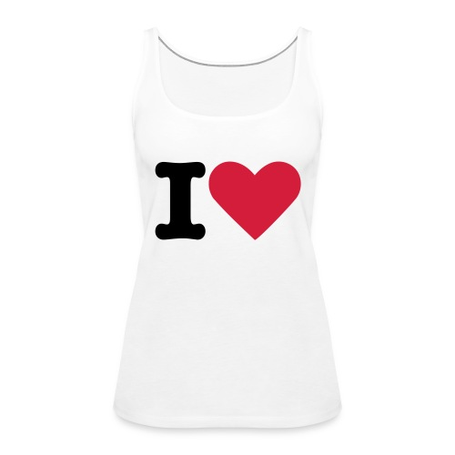 I Love DMC - Frauen Premium Tank Top