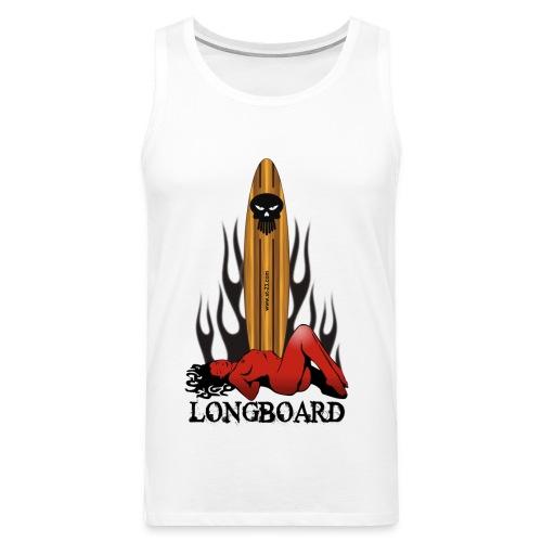 Longboard - Men's Premium Tank Top
