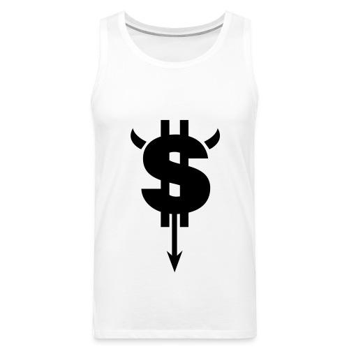 Dollar Sign T-Shirt  - Men's Premium Tank Top
