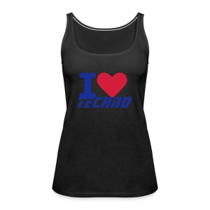 Techno Ladies Vest - Women's Premium Tank Top