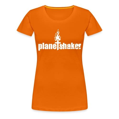 Planetshaker orangegirls - Frauen Premium T-Shirt
