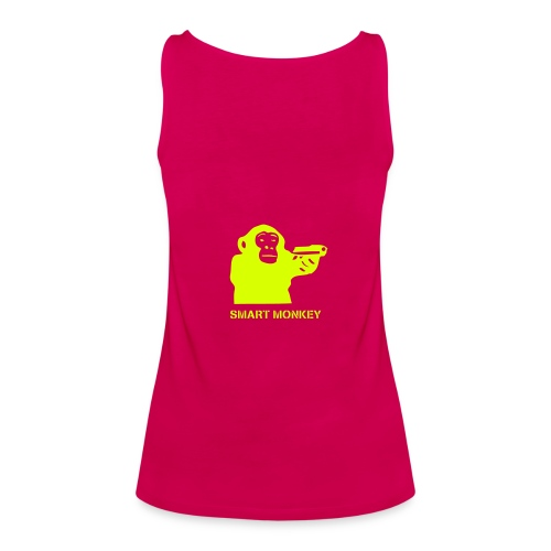 smart monkey  - Women's Premium Tank Top