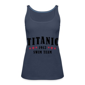 Titanic Swim Team Womens - Women's Premium Tank Top