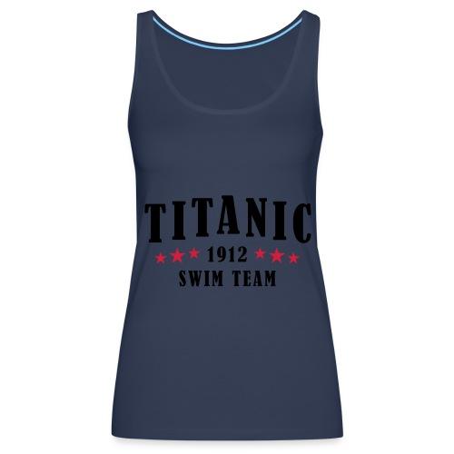 Titanic Swim Team Womens - Women's Premium Tank Top
