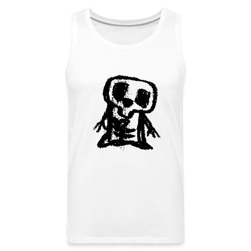 Skelett - Männer Premium Tank Top