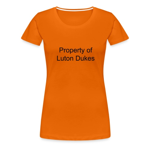 Dukes Continental Classic Women's Property Of T-Shirt - Women's Premium T-Shirt