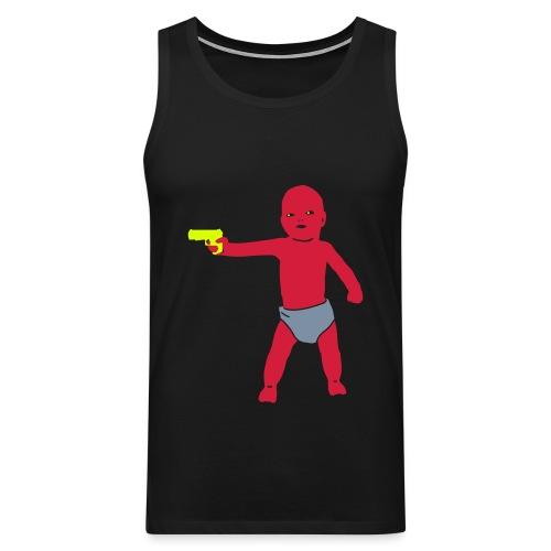 Violent Baby Boy Tank Top For Menn! - Premium singlet for menn