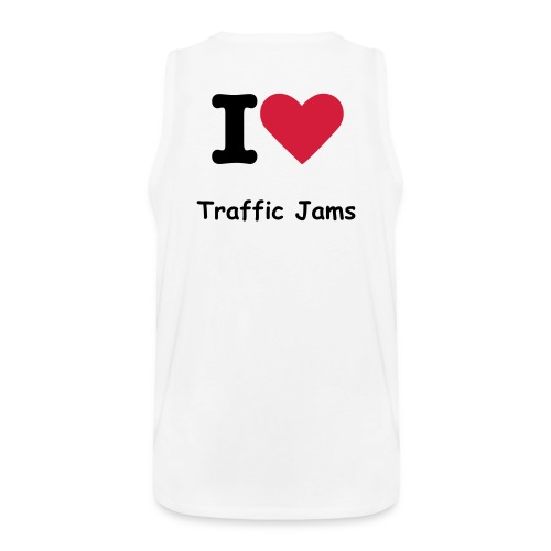 I Love Traffic Jams - Men's Premium Tank Top