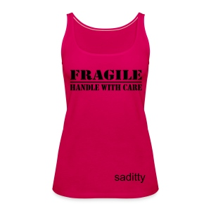 Fragile Tank - Women's Premium Tank Top