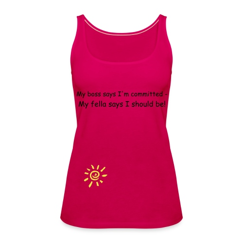 committed - Women's Premium Tank Top