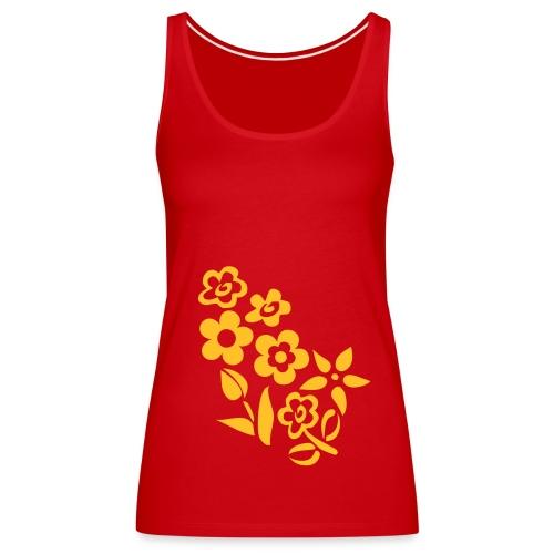 Top *Flowers* - Frauen Premium Tank Top
