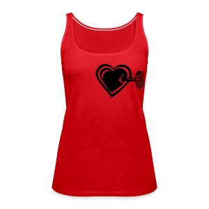 You have the key to my heart (Girls) - Women's Premium Tank Top