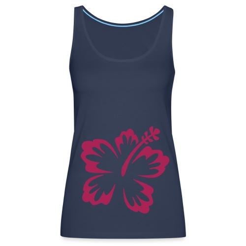 Ladies - Hibiscus - Women's Premium Tank Top