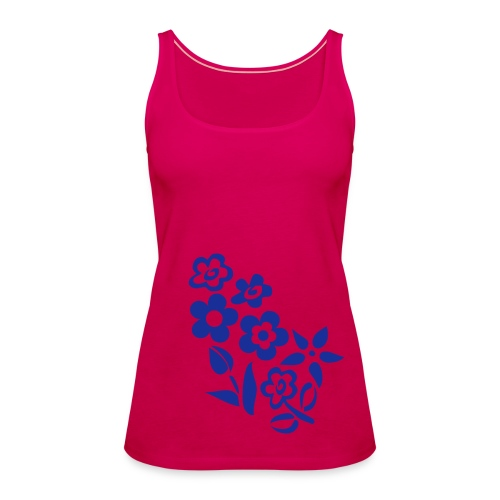 Ladies Flower - Women's Premium Tank Top
