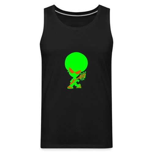 Alien top - Men's Premium Tank Top