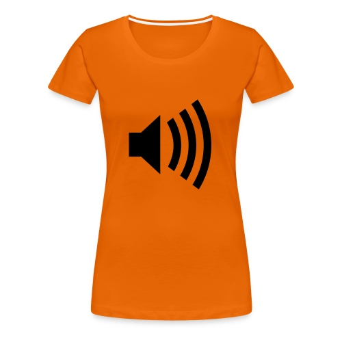 Loud! Dam - Premium-T-shirt dam