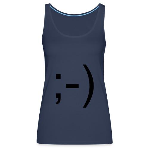 Camiseta ;-)  - Camiseta de tirantes premium mujer