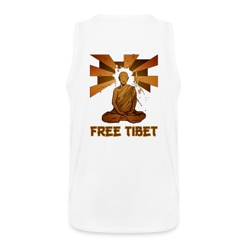 T-Shirt - Maglietta smanicata Free Tibet - Canotta premium da uomo
