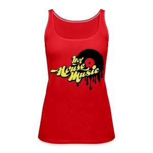 Hot House Music - Women's Premium Tank Top