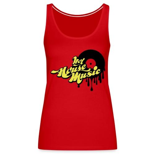 Hot House Music - Women's Premium Tank Top