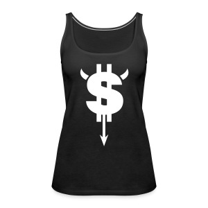 Dollar Black - Women's Premium Tank Top