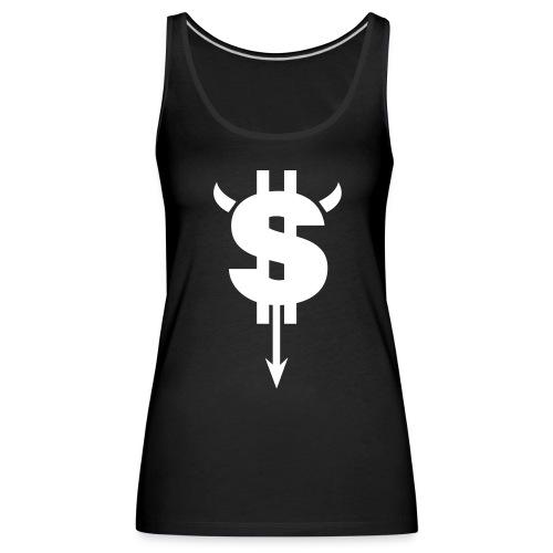 Dollar Black - Women's Premium Tank Top