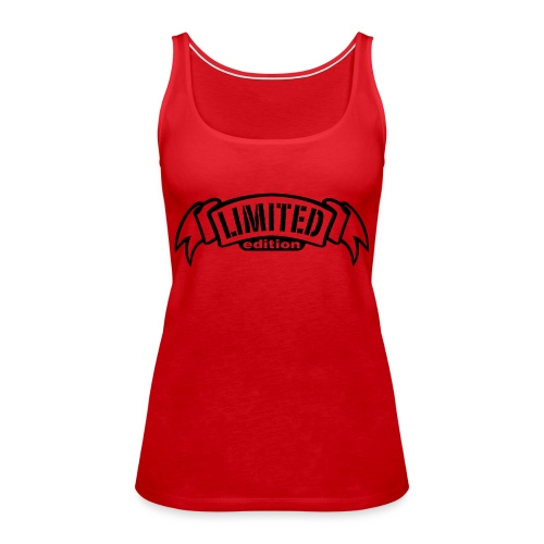 Limited Red - Women's Premium Tank Top
